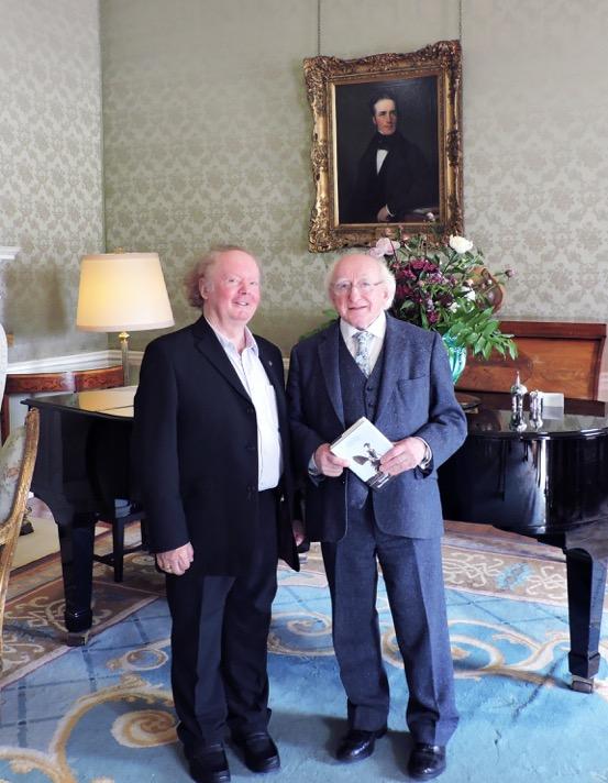 Alan Titley agus Mícheál D. Ó hUiginn