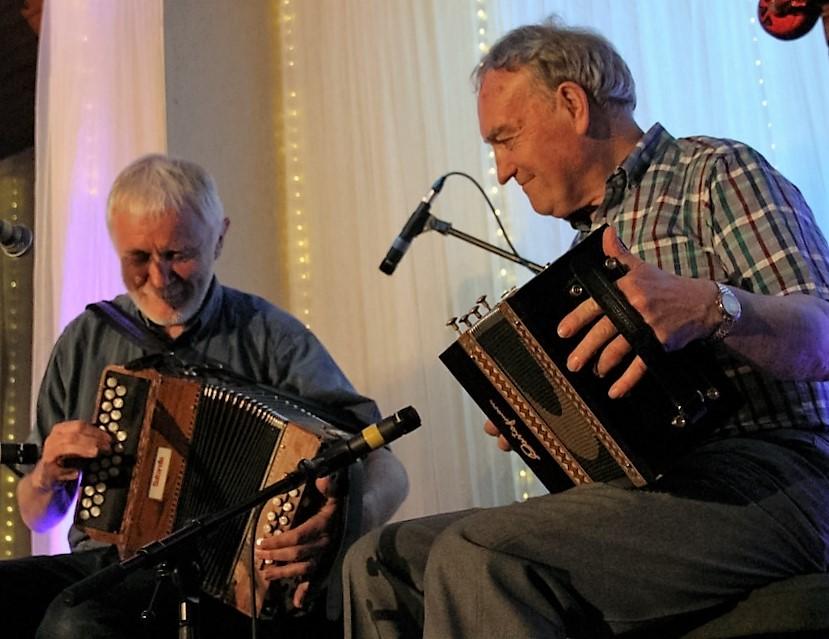 Máirtín O Connor agus Johnny Connolly