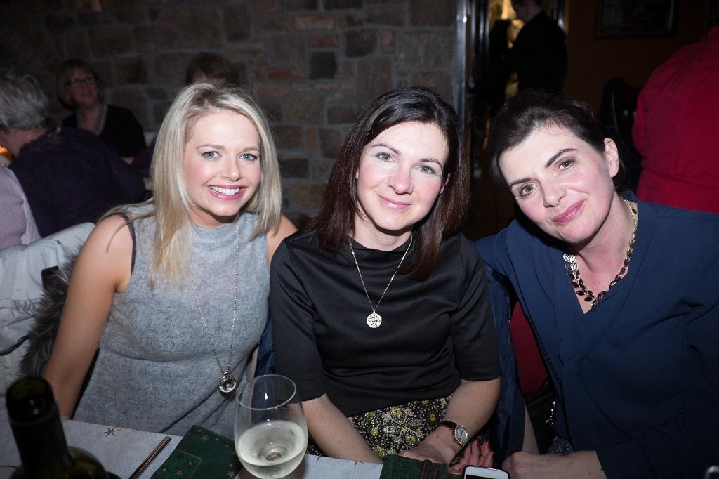 Sharon Ní Chualáin, Tríona agus Deirdre Bhreathnach.