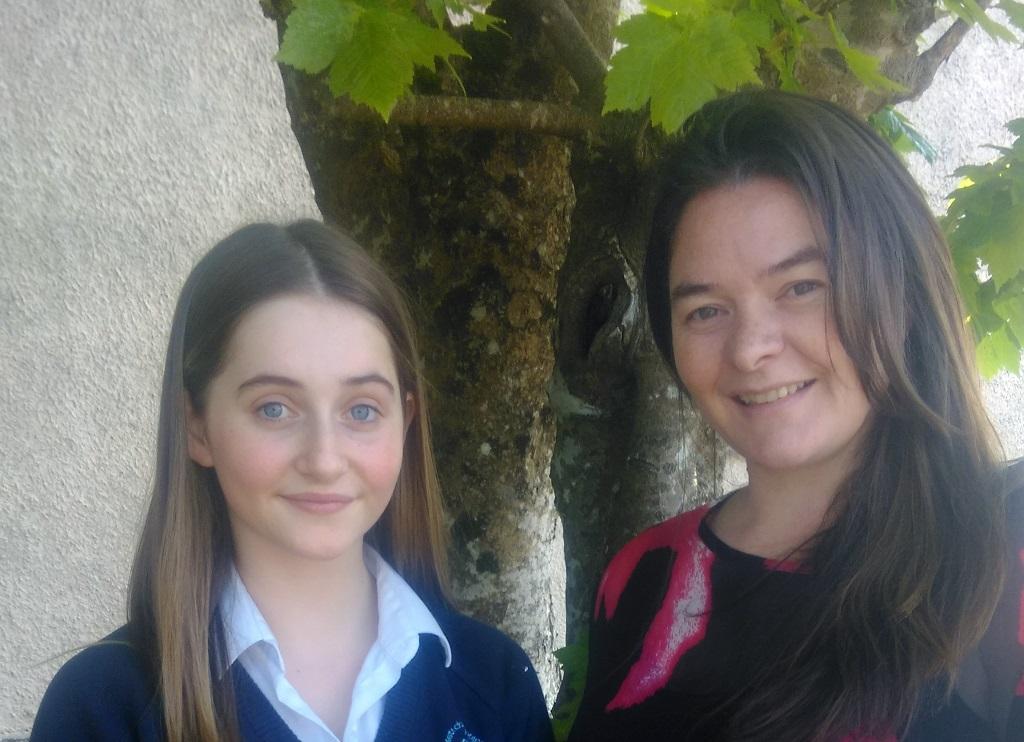 Róise Nic Dhonnagáin agus Bróna Ní Uallacháin