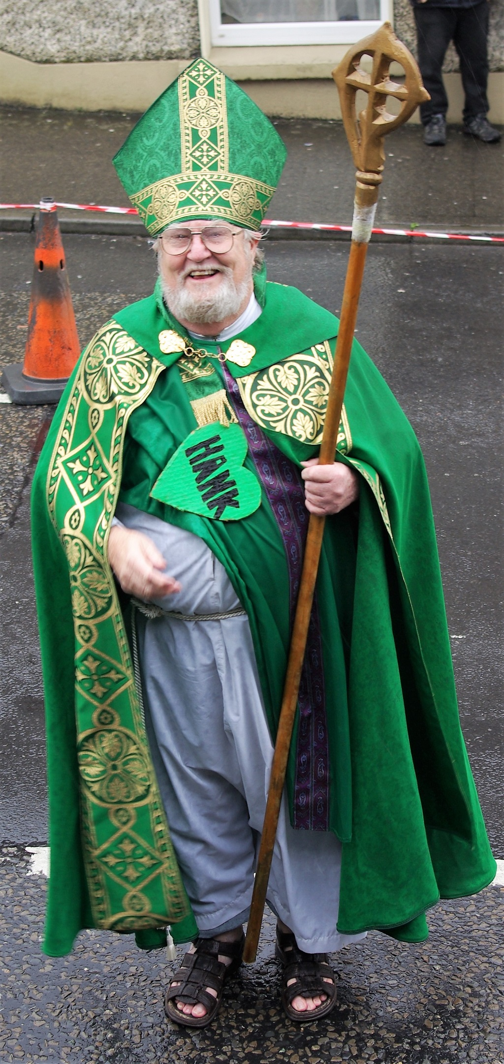 'St Pádraig' - deartháir Hank