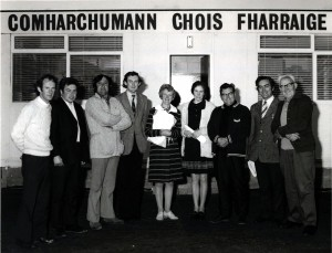 Roinnt Ball Choiste Chumann Forbartha Chois Fharraige i 1974