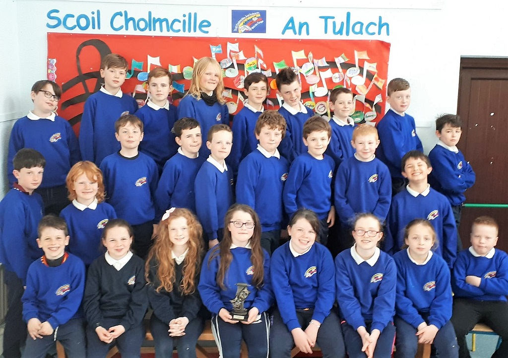 Rang 3 & 4 ó Scoil Náisiúnta Cholmcille, An Tulach