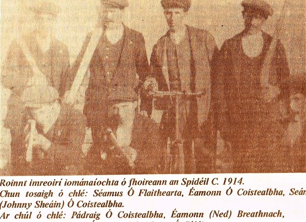 Jimmy Ó Flatharta 1914
