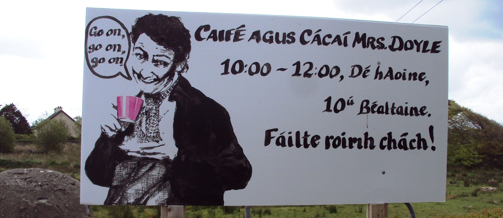 Caife agus Cácaí Mrs Doyle