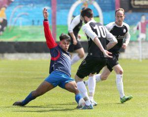 Chois Fharraige v Knocknacarra FC at Eamonn Deacy Park.