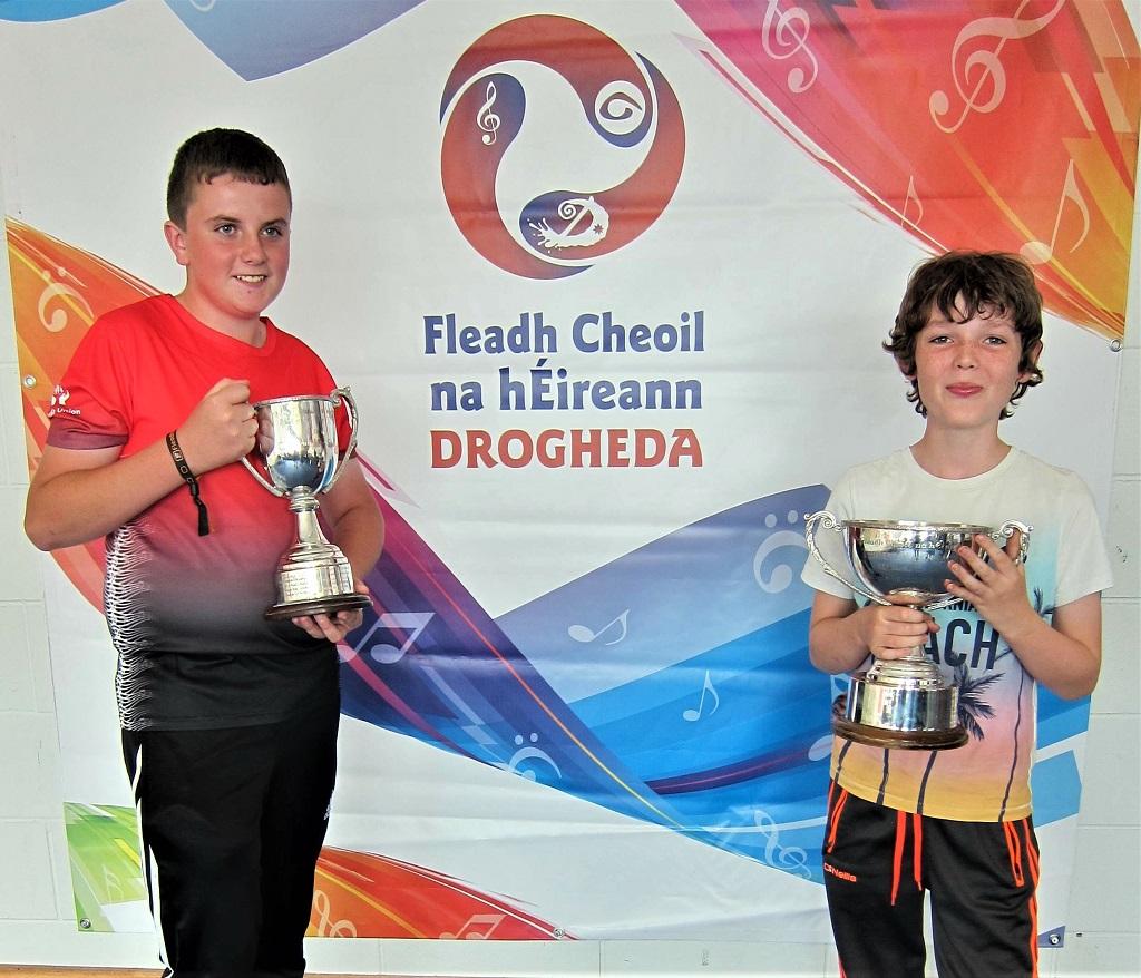 Caoilte agus Colm ag Fleadh Ceoil 2019