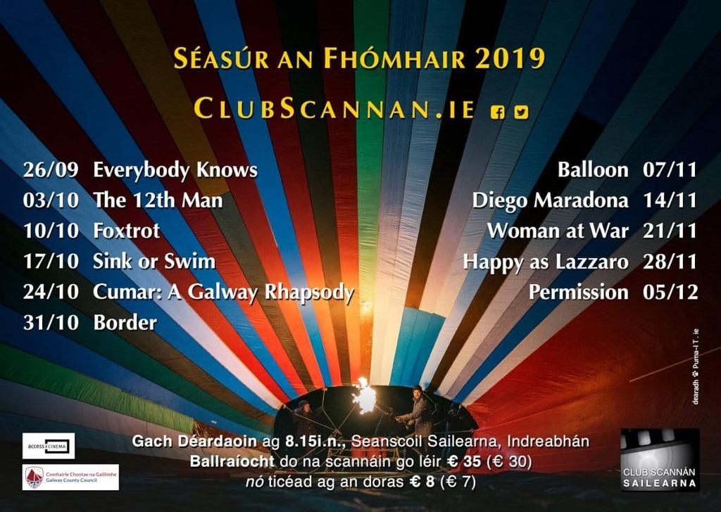 Club Scannan - Seasur An Fhomhair 2019