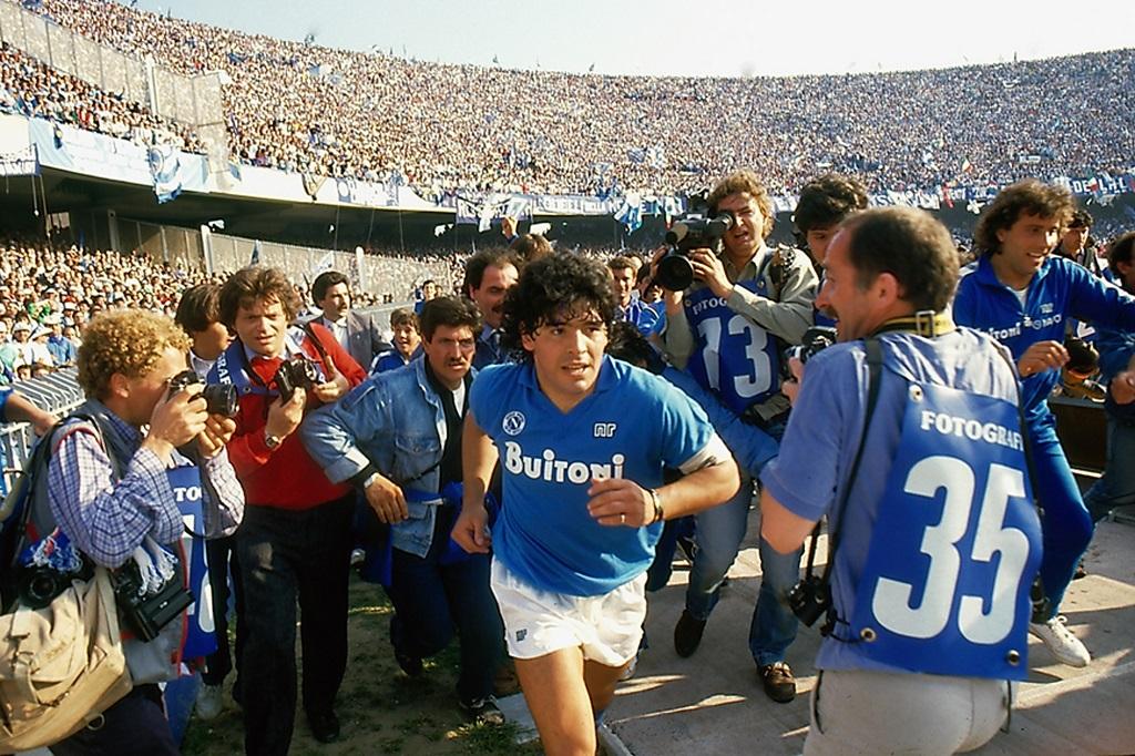 Club Scannán - Maradona