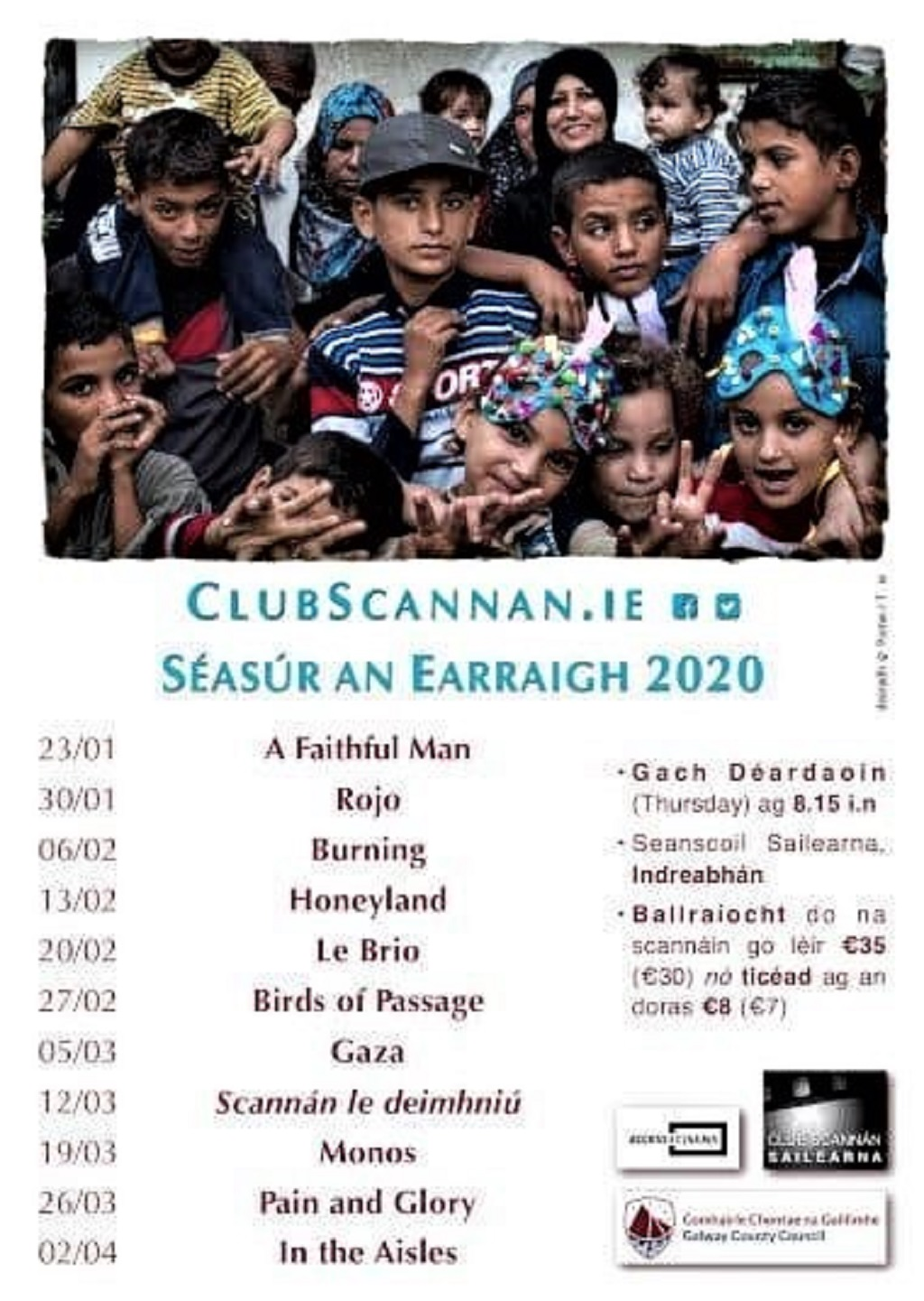 ClubScannan CF - Seasur An Earraigh 2020